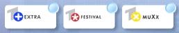 Eins Extra, Plus, Festival altes Logo
