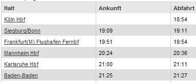 Lahme Bahn